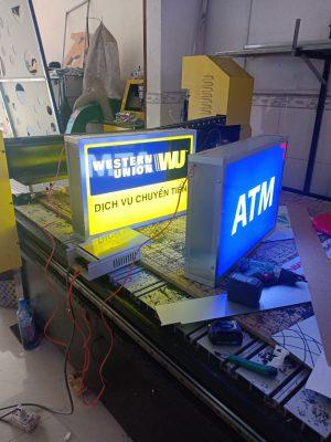 Làm bảng hiệu hộp đèn quận 7 tại Tp. HCM